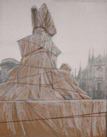 Múltiple Christo - Plazza del duomo Milan