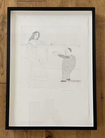 Sin Técnico Hockney -  Pleading for the Child (