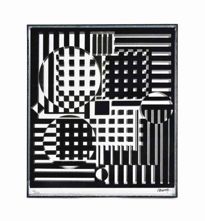 Múltiple Vasarely - Pleionne