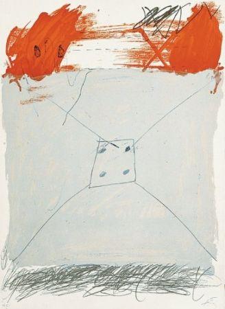 Litografía Tàpies - Poems-1
