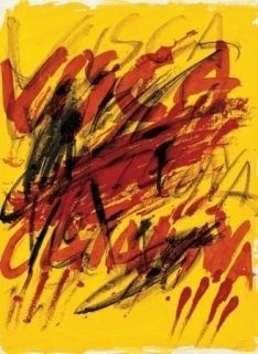 Litografía Tàpies - Poems-6
