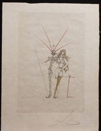 Grabado Dali - Poems Secrets Frontispiece