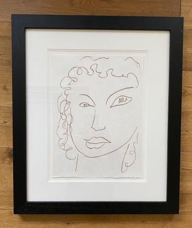Litografía Matisse - Poesies Antillaises - Number J.1