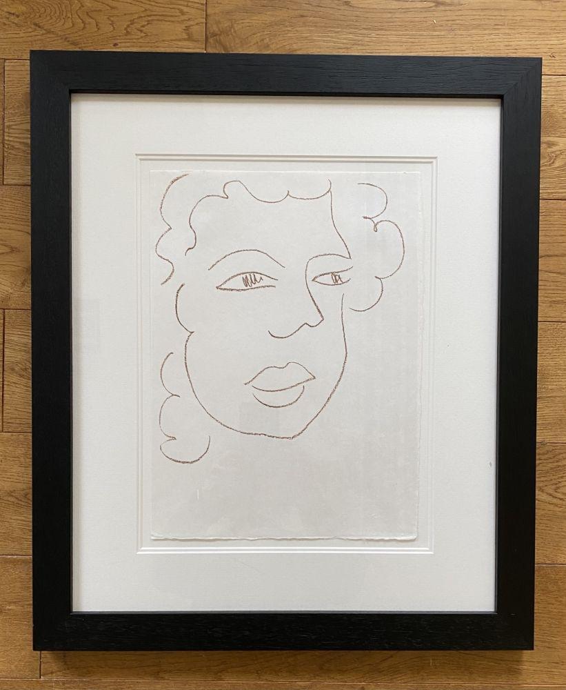 Litografía Matisse - Poesies Antillaises - Number J.7