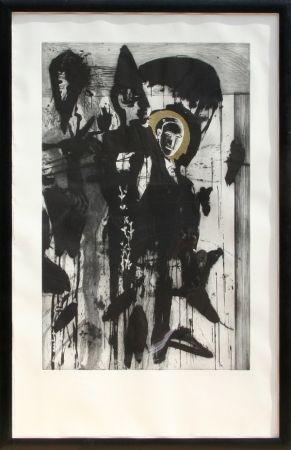 Grabado Paladino - Poeta Occidentale - Triptych #2