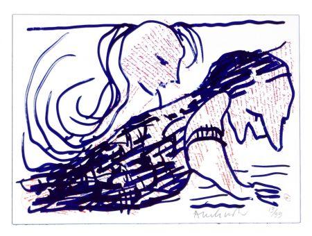 Litografía Alechinsky - Pointes et Feutres (5)