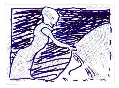 Litografía Alechinsky - Pointes et Feutres (6)
