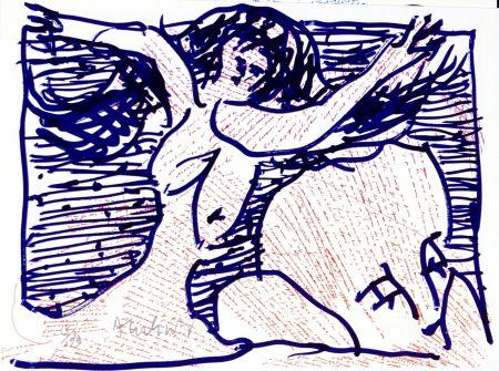 Litografía Alechinsky - Pointes et Feutres (9)