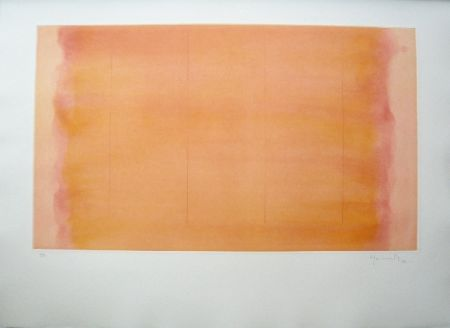 Grabado Hernandez Pijuan - Polychrome 16