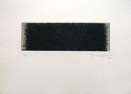Grabado Hernandez Pijuan - Polychrome 4