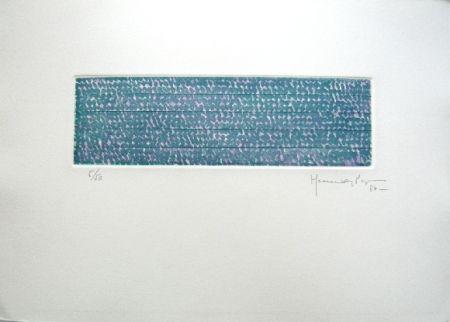 Grabado Hernandez Pijuan - Polychrome 5