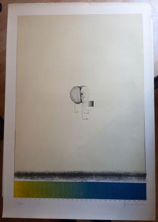 Litografía Hernandez Pijuan - Poma