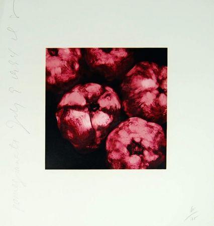 Serigrafía Sultan - Pomegranates