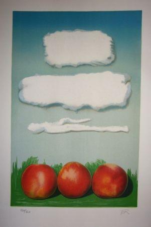 Litografía Ray - Pommes