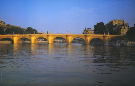 Offset Christo - Pont Neuf Wrapped