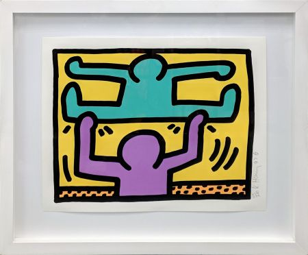 Serigrafía Haring - POP SHOP I (2)