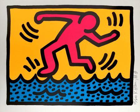 Serigrafía Haring - Pop Shop II, C