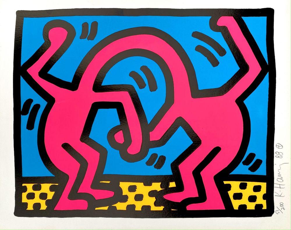 Serigrafía Haring - Pop Shop II, D