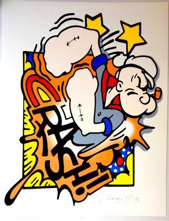 Serigrafía Crash - Popeye