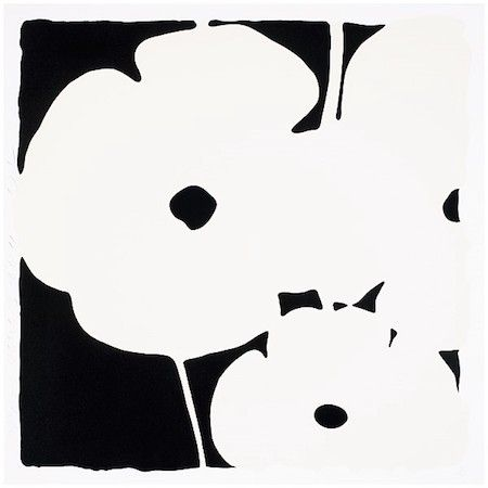 Serigrafía Sultan - Poppies, June 3, 2011 (White)