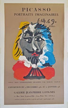 Litografía Picasso - Portrais Imaginaires