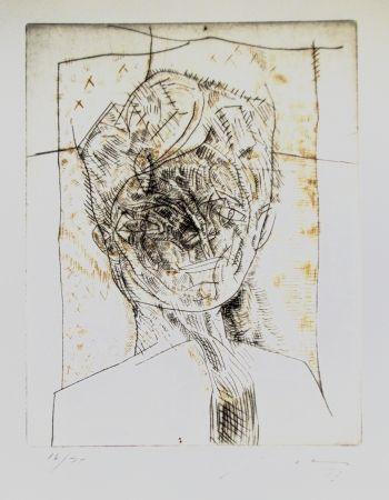 Aguafuerte Y Aguatinta Cuevas - Portrait