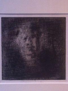 Grabado Leroy  - Portrait