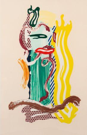 Litografía Lichtenstein - Portrait