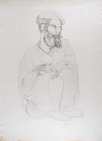 Aguafuerte Fulla - Portrait