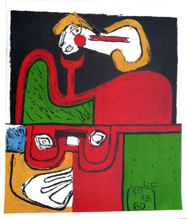Litografía Le Corbusier - Portrait