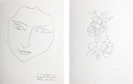 Litografía Matisse - PORTRAIT D'ANGÈLE (1943)
