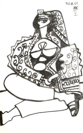 Litografía Picasso - Portrait De Femme
