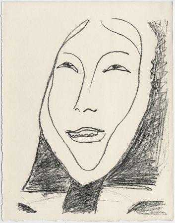 Litografía Matisse - Portrait de femme esquimau n° 4. 1947 (Pour Une Fête en Cimmérie)