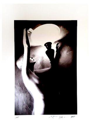 Litografía Gibson - Portrait de Femme Nue