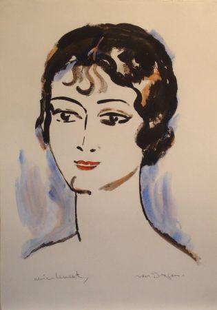 Litografía Van Dongen - Portrait de Jeune Femme