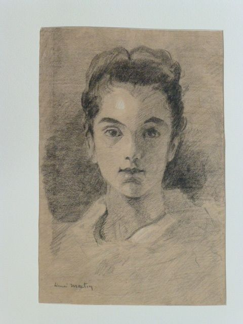 Sin Técnico Martin - Portrait de jeune fille