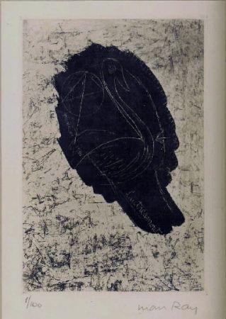 Aguafuerte Y Aguatinta Ray - Portrait de Lautreamont