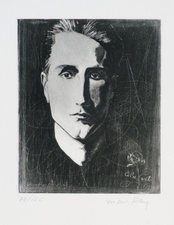 Aguafuerte Y Aguatinta Ray - Portrait de Marcel Duchamp