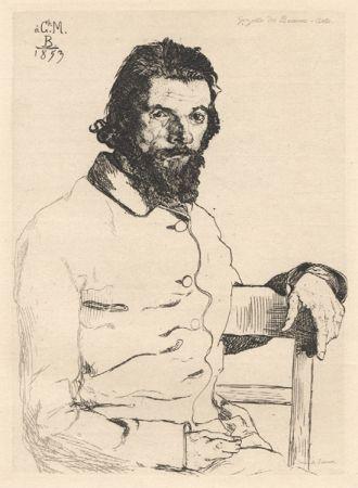 Sin Técnico Bracquemond - Portrait de Meryon