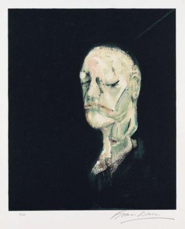 Litografía Bacon - Portrait de William Blake