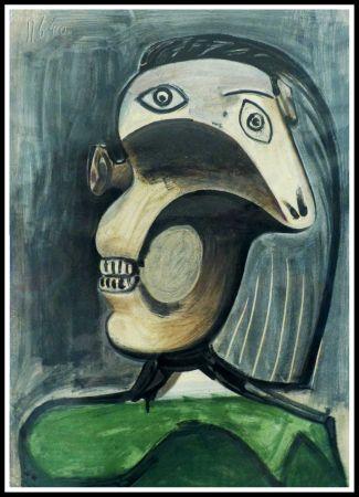 Litografía Picasso (After) - PORTRAIT DORA MAAR