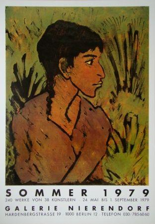 Cartel Mueller - Portrait einer Zigeunerin