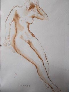 Sin Técnico Laniau - Portrait Féminin