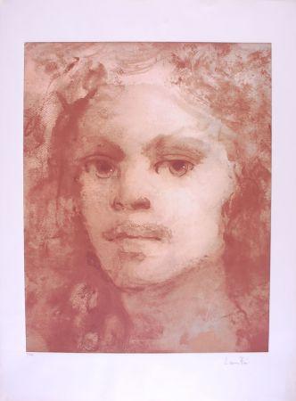 Litografía Fini - Portrait imaginaire