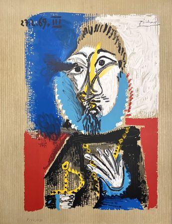 Litografía Picasso - Portrait Imaginaires 27.3.69 III