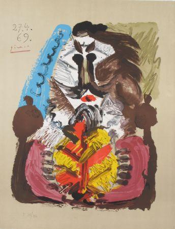 Litografía Picasso - Portrait Imaginaires 27.4.69