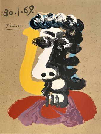 Litografía Picasso - Portrait Imaginaires 30.1.69