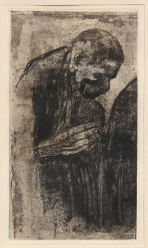 Grabado Kollwitz - Portrait of a Man