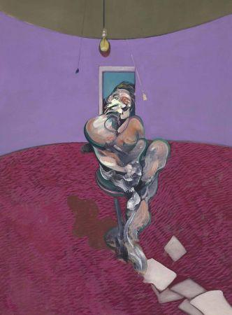 Litografía Bacon - Portrait of George Dyer Talking