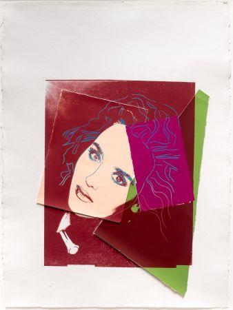 Serigrafía Warhol - Portrait of Isabelle Adjani